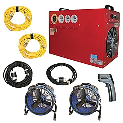 Bed Bug Heater System, Heat Treatment to Get Rid of All Bed Bugs in 6-8 Hours, Removes All Bed Bugs in Small Home or Apartment (up to 800 sqft)