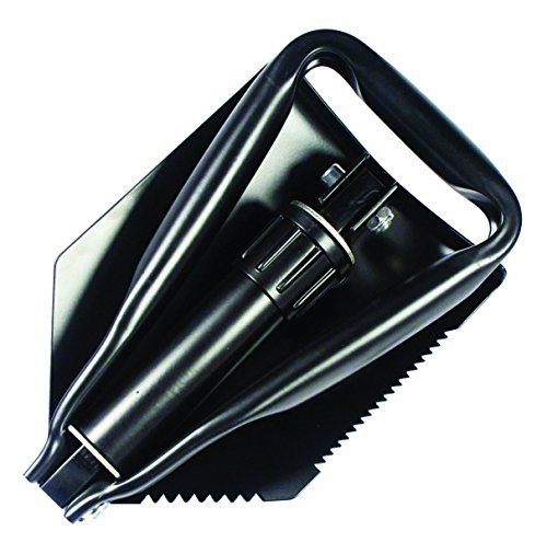 SE 8791FSP Emergency Tri Fold Serrated Survival Shovel