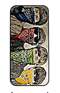 Beatles Rubber Custom Durable Fashionable Perfect Design High Quality Silicone Case Cover Skin For Apple iPhone 5 5S , WilsonShop Rubber iPhone 5/5S Case
