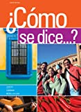 img - for Bundle: Como se dice...?, 10th + iLrn  Printed Access Card book / textbook / text book