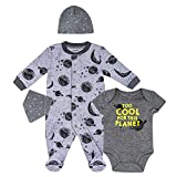 Petit Lem Baby 4-Pc Pajama Set, Footie, Onesie, Bib, Hat or Bow