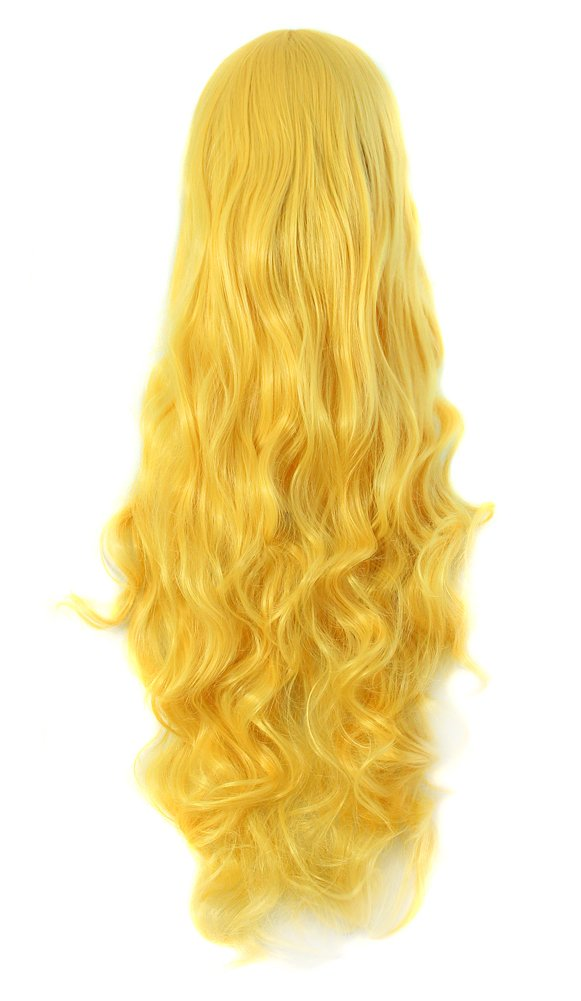 MapofBeauty 32 80cm Long Hair Spiral Curly Cosplay Costume Wig (Orange Red)