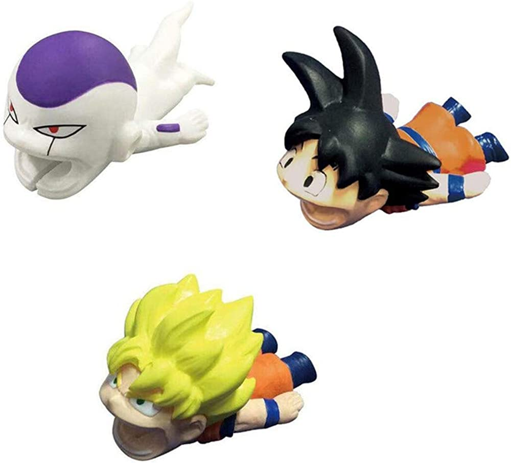 YYAO Cable Bite Dragon Ball iPhone Cable Cord Protector Cute Cartoon Cellphone Smartphone Laptop Data Line iPad Android USB Cord Sleeve Protector Cable Accessory
