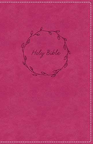 KJV, Deluxe Gift Bible, Leathersoft, Pink, Red Letter Edition, Comfort Print: Holy Bible, King James Version
