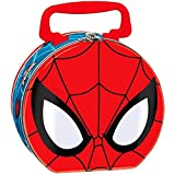 Amscan Ultimate Spider-Man Birthday Party Lunch Tin Box Favour, Metal, 5'' x 6'' x 3''