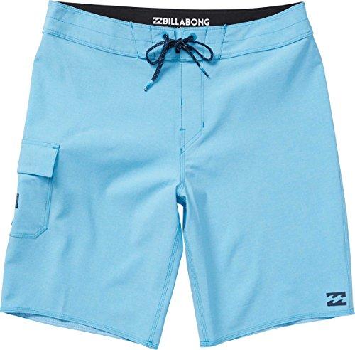 Billabong Men's All Day X Boardshorts Blue Heather (Billabong Mens Boardshorts)