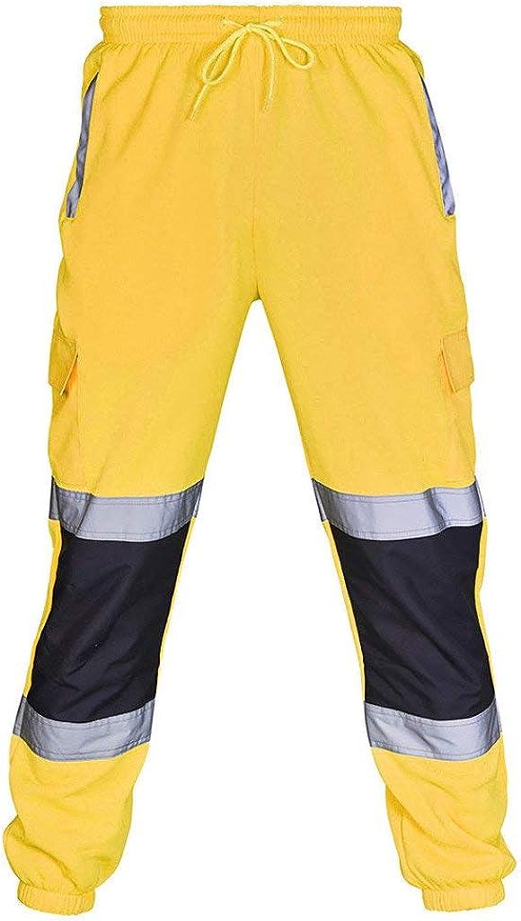 Pantalones Deportivos Elásticos para Hombre Multi-Bolsillo de ...