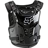 Fox Racing Proframe LC Youth Boys Roost Deflector MotoX/Off-Road/Dirt Bike Motorcycle Body Armor - Black/One Size