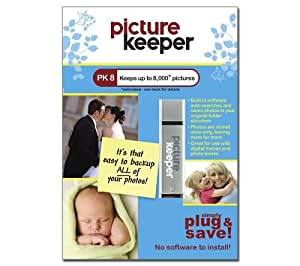 Picture Keeper 8GB Photo Backup Device