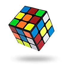 Speed Cube, Buself 3x3x3 Sticker Speed Cube Smooth Magic Cube Puzzle,Turns Quicker and More Precisely Than Original