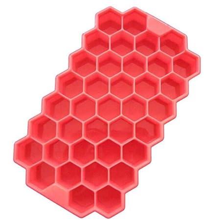 Compra LIXIFF 2Pcs 37 Cubitos de Hielo Honeycombice Cream Forma de ...