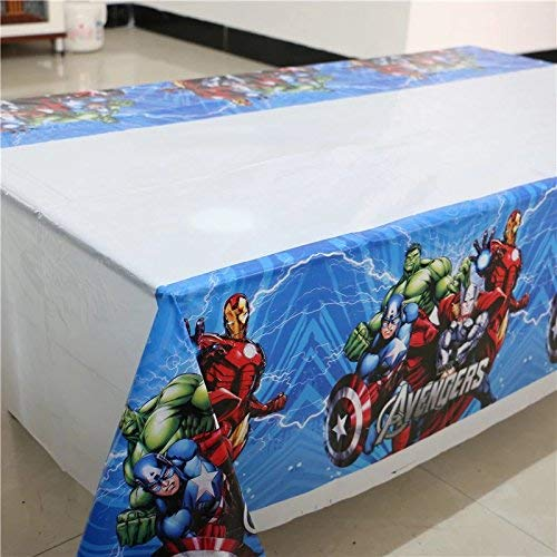 CharmTM Set of 2 Superhero Tablecloths AV Party Tablecloths Plastic 42