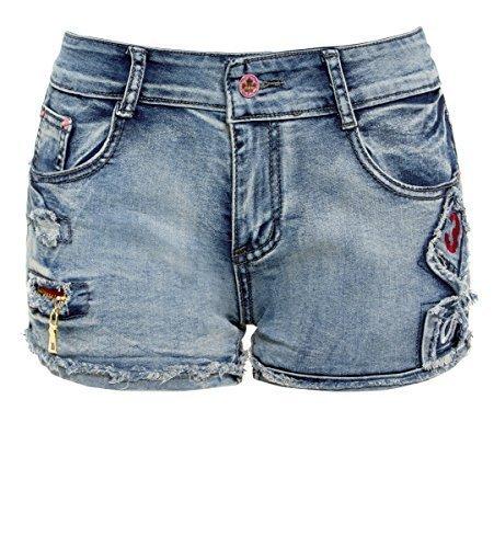 Jean Jean Jean 14 14 14 14 Short 6 Femmes Tailles Pour Neuf Ss7 Jeans Bleu awUaYr
