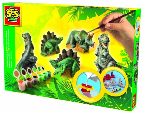 Dinosaur Casting (SES Creative Dinosaurs Plaster Casting and Painting)
