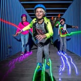 Neon Street Rollers | Flashing Heel Wheels Clip