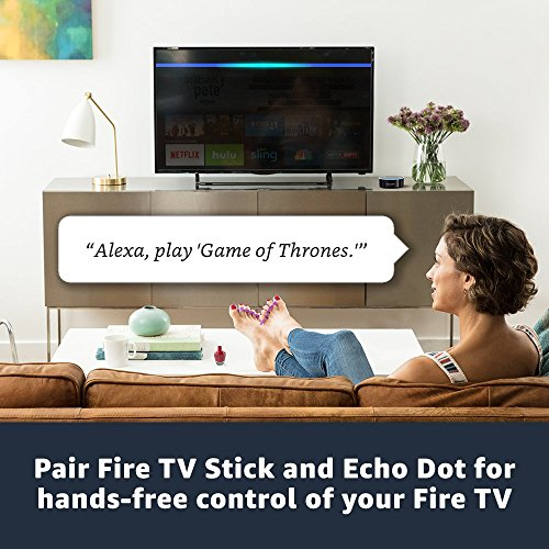 Large Product Image of Fire TV Stick with Alexa Voice Remote | Streaming Media Player