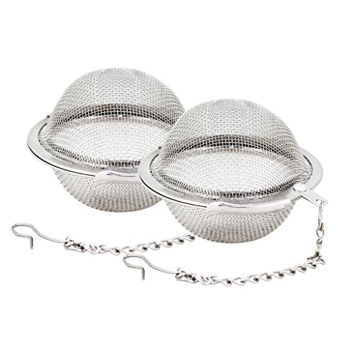 Find Cheap Stainless Steel Mesh Tea Ball 2.1 Inch Tea Infuser Strainers Tea Strainer Filters Tea Int...