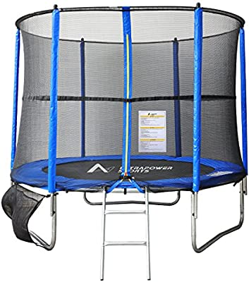 89ce05db89fcb BPS 8FT 10FT 12FT Trampoline with Safety Enclosure Spring Padding ...