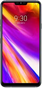 LG G7 ThinQ 64GB G710EM Factory Unlocked 4G/LTE Smartphone (Aurora Black) - International Version