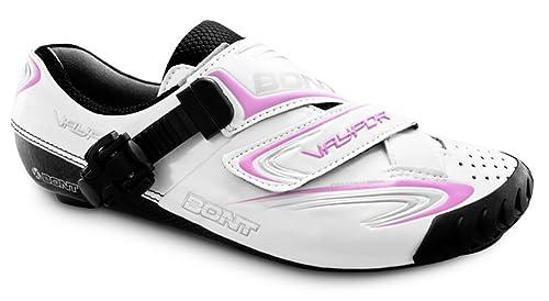Bont Vaypor Zapatillas de Ciclismo Carretera Blanco/Rosa Talla 38: Amazon.es: Zapatos y complementos