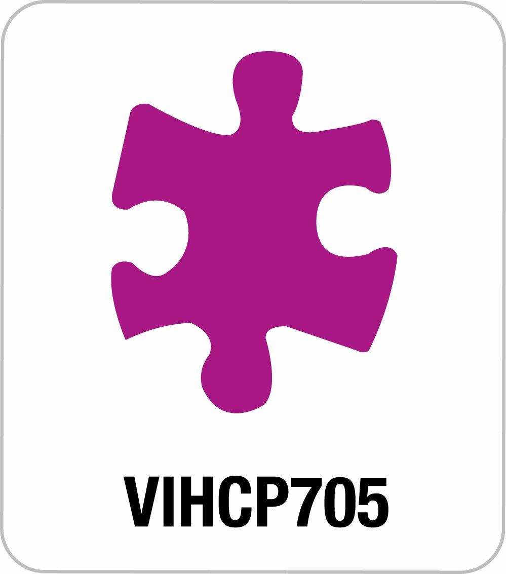Artemio - Hobby Fustellatrice, 7,6 Cm, Puzzle VIHCP705
