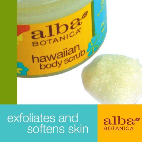 Alba Botanica Revitalizing Sea Salt Hawaiian Body Scrub, 14.5 oz.