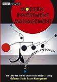 Modern Investment Management:  An Equilibrium Approach