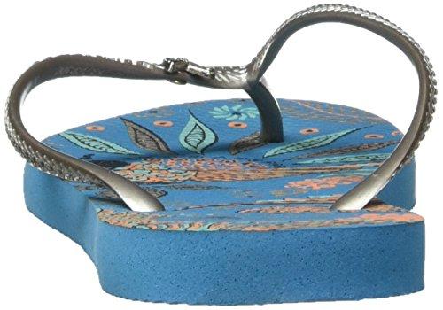 Azul Turquesa Havaianas para 4127786 Chanclas Mujer 4wRqpYI