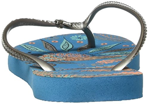 Azul 4127786 Turquesa para Chanclas Havaianas Mujer I0dHpwHq