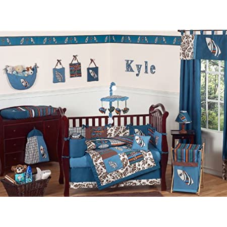 51bB5ea8XhL._SS450_ Nautical Crib Bedding and Beach Crib Bedding