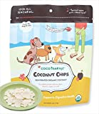 organic dehydrated coconut - CoCoTherapy Coconut Chips - 6 oz, (Pack of 2)