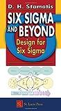 Six Sigma and Beyond:  Design for Six Sigma, Volume VI
