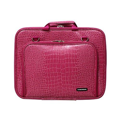 CaseCrown Memory Foam Pocket Case (Alligator Hot Pink) for 15 Inch Laptop, Best Gadgets