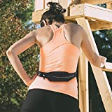 Gear Beast Running Belt Fanny Pack Waist Bag. ID, Key and Hydration Holder, Slim Adjustable Sport and Travel Pack Holds Cell Phones Including iPhone 8 7s 7 6s 6 Plus Galaxy S6 S7 Edge S8 Plus Note 8