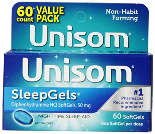 Unisom Gels sommeil, 60 Count