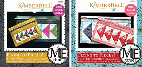 Kimberbell Designs Bundle of 2 Embroidery by Number ME Time CD