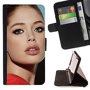 Momo Phone Case / Flip Funda de Cuero Case Cover - sexy actriz;;;;;;;; - Motorola Moto E ( 1st Generation )