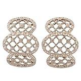 Maayra Trendy Designer Earrings Silver Dangler Drop College Fashion Earrings