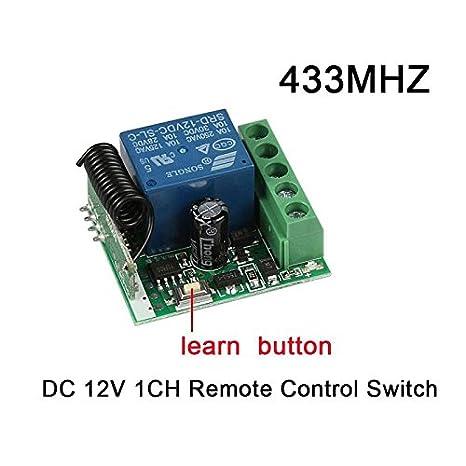 Amazon.com: Dotado Luz LED Interruptor de Control Remoto ...