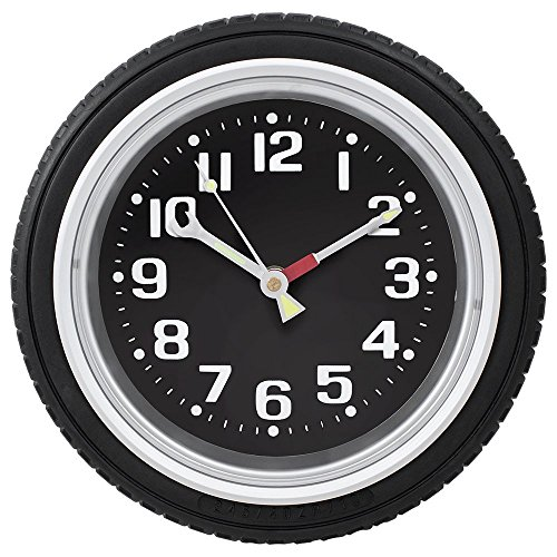 Design Gifts Tire Wall Clock