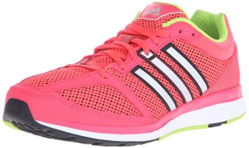 adidas Performance Women's Mana RC Bounce Running Shoe,Shock Red/Iron Metallic Grey/Black,11.5 M US