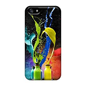 RoccoAnderson Snap On Hard Cases Covers Splash Of Colors Protector For Iphone 5/5s