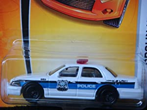 Amazon.com: Matchbox Ford Crown Victoria White Police K-9