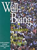 img - for Well-Being: Foundations of Hedonic Psychology   [WELL-BEING] [Paperback] book / textbook / text book
