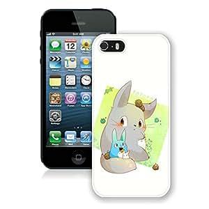 Fashion Designed My Neighbor Totoro 35 White iPhone 5S Phone Case