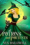 Of Potions and Portents is the first book in the Sister Witches of Raven Falls Cozy Mystery Series. Join a set of magickal sisters as they solve paranormal mysteries that fans of Charmed, Hocus Pocus, and The Good Witch will love. ***Bonus recipes an...
