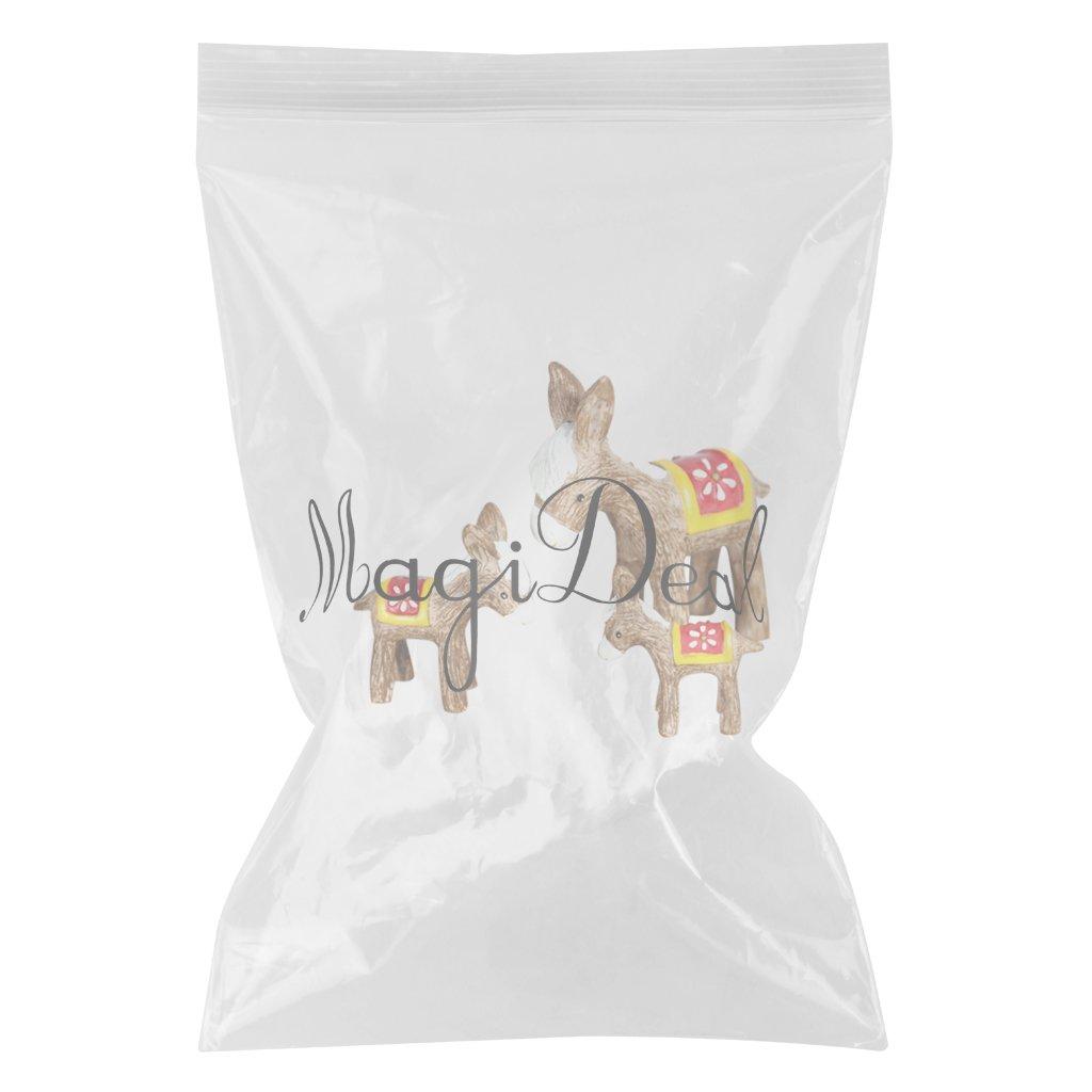 Amazon.com: Magideal 3 piezas miniatura Flower Pot Dollhouse ...