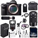 Sony Alpha a7S II a7S Mark II a7SII ILCE7SM2/B Mirrorless Digital Camera (International Model no Warranty) + Sony E 55-210mm f/4.5-6.3 OSS E-Mount Lens (Black) + 49mm Filter Kit 6AVE Bundle 122