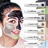 Face Mask Mud Masks Set,7-Step Face Treatment Cleansing,acne treatment,Refining,Healing,Hydrating Kit for Oily,Dry,Acne,Pimples,Blackheads,Dull Skin