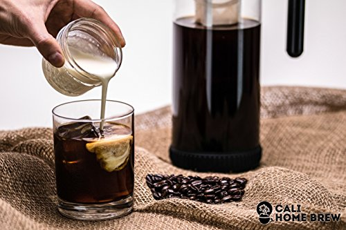 Non Glass Coffee Maker : 3 in 1 Cold Brew Iced Coffee Maker with Non-Slip Base Iced Tea Maker Fruit Infusion Pitcher ...